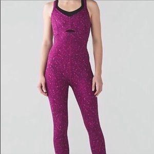 Lululemon Purr-suit bodysuit one piece catsuit 6